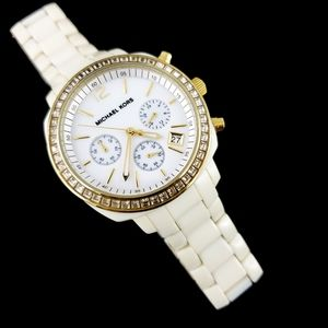 Michael Kors Statement Watch Cream Acrylic MK 5187